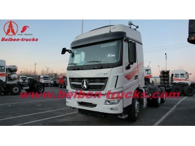 2015 new BEIBEN V3 480hp big heavy duty 6x4 tractor head truck supplier