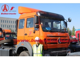 china best Beiben NG80 WEICHAI Engine tractor truck head With Low Price