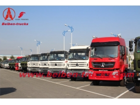 baotou BEIBEN V3 6x4 right hand drive high quality TRAILER TRACTOR supplier