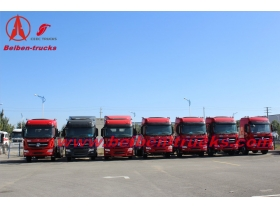 baotou North benz BeiBen V3 NG80 6X4/6x6 Tractor Head Truck 340-420hp