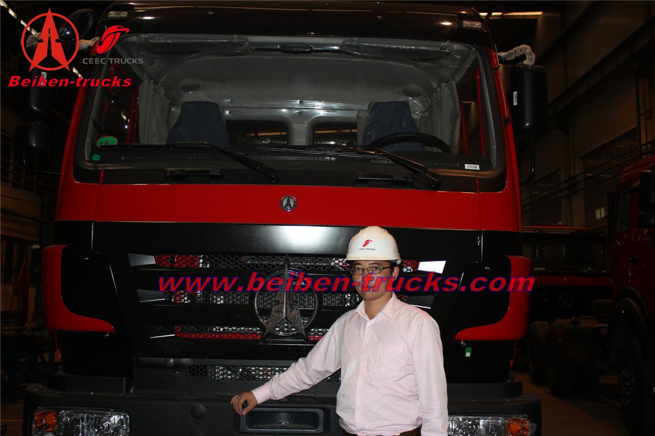 china Beiben 6x4 prime mover trailer tractor truck/lowest price for sale supplier