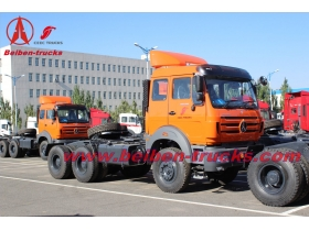 Beiben NG 80 6X4 tow tractor truck With 10 wheels for congo