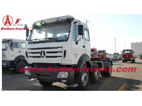 china truck hot sale in africa 6x4 north benz beiben truck tractor  supplier