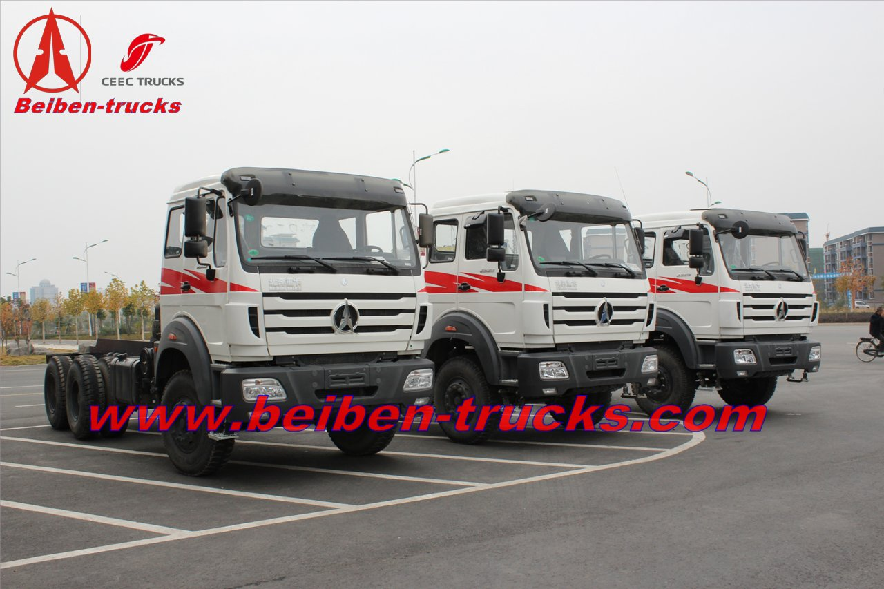 china BEIBEN BRAND NEW OFF ROAD FULL DRIVE 6X6 TRACTOR TRUCK  supplier