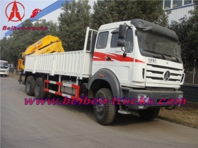 best 16ton Beiben truck mounted crane china manufacturer