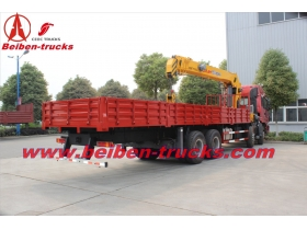 High Quality 16 T north benz truck mounted crane price