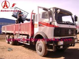 china north benz 10 T crane trucks manufacturer