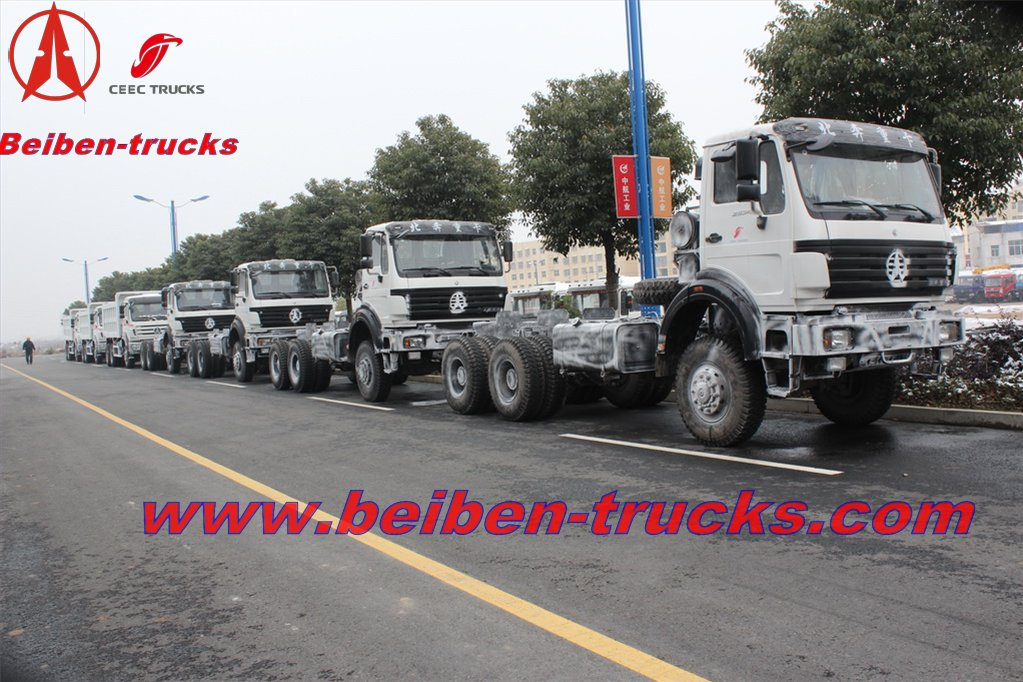baotou BEIBEN Truck Tractor With Certicfication ISO,GCC,CCC