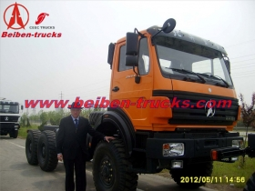 china best price Mercedes Benz NG80 Tractors 6x4 Beiben Trailer Tractor Truck 2538