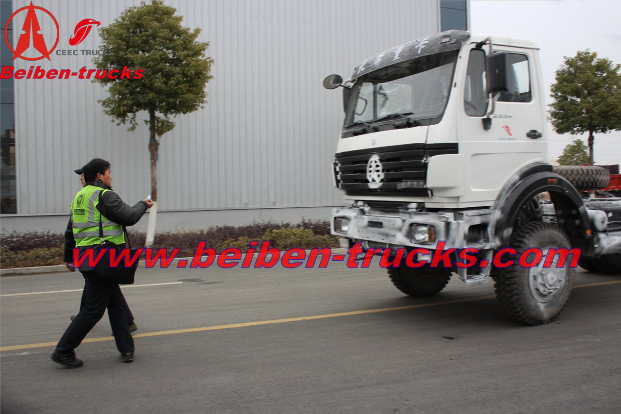 North-Benz 6x4 type Mercedes-benz Technology tractor truck  price