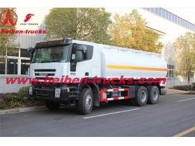CHINA IVECO 22 CBM 682 fuel tanker truck manufacturer