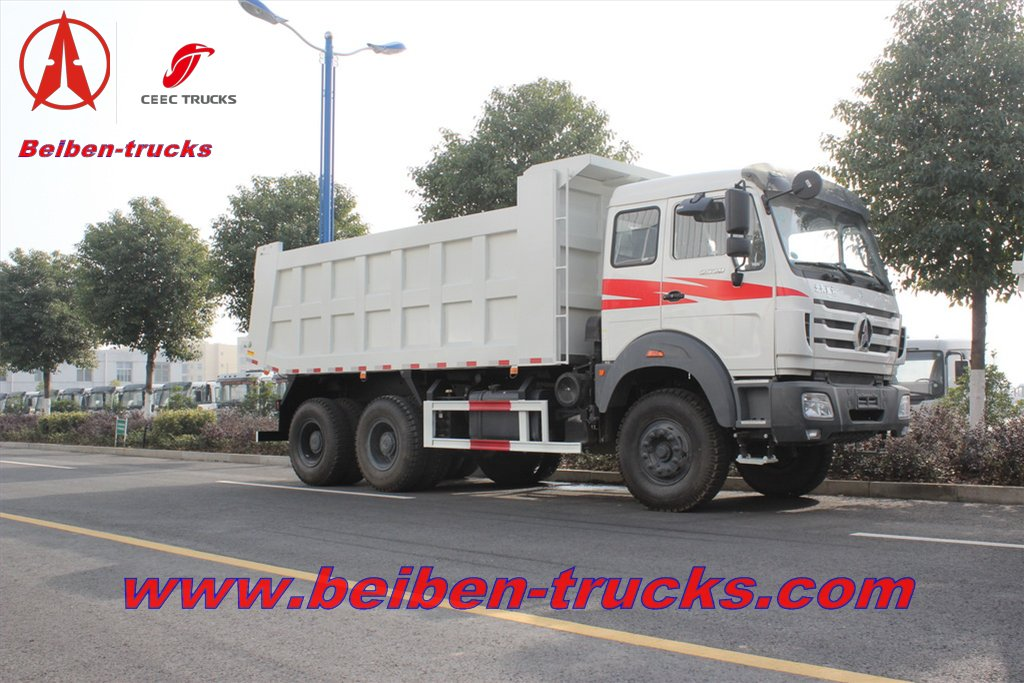 best price for beiben 10 wheeler tipper truck