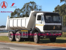 Beiben 380hp tipper lorry 10 tires dump truck manufacturer