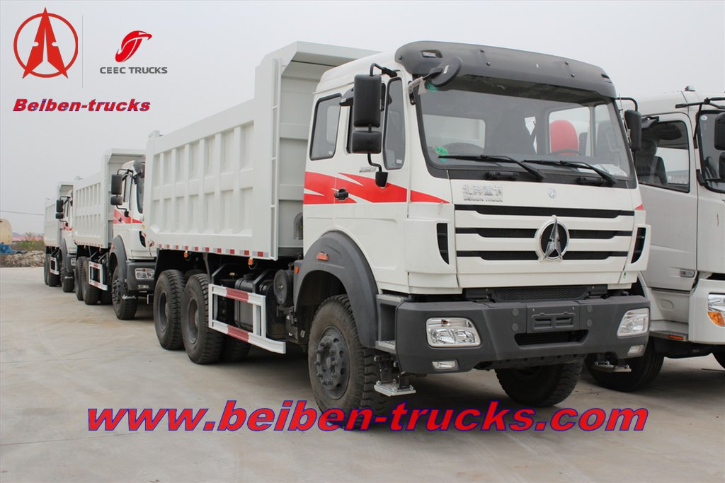africa beiben 340 hp dump trucks supplier