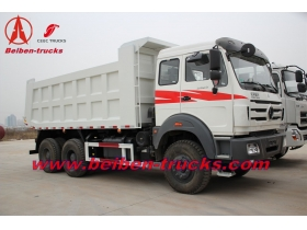 North benz 30ton tipper lorry 6x4 10 tyres dump truck China beiben truck  manufacturer