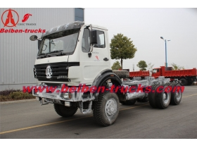 china 380hp Beiben truck head Beiben 2538 North benz 6x4 prime mover Beiben tractor truck best price
