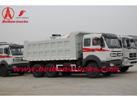 china North benz 4x6 tipper truck 25ton dump lorry 10 wheels dump truck  price