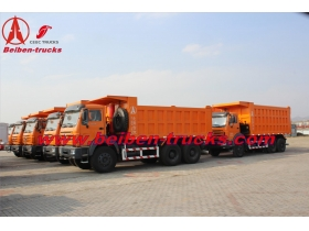 baotou Beiben power star 25ton lorry truck RHD tipper lorry manufacturer