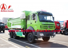 China 30ton dump truck Beiben brand new 6x4 tipper truck 340hp manufacturer