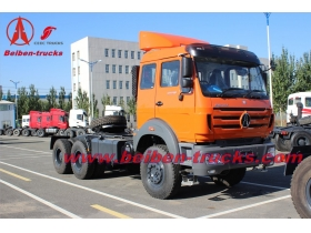 North Benz 420hp truck head 6x4 tractor truck 10 wheels  supplier