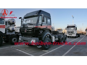 camion tracteur beiben 380hp 2638 10 roues North Benz 6x4 truck head  supplier