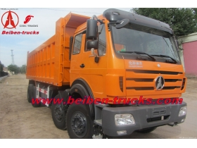 cheap price for north benz 12 wheeler 3138 type dump truck for sale