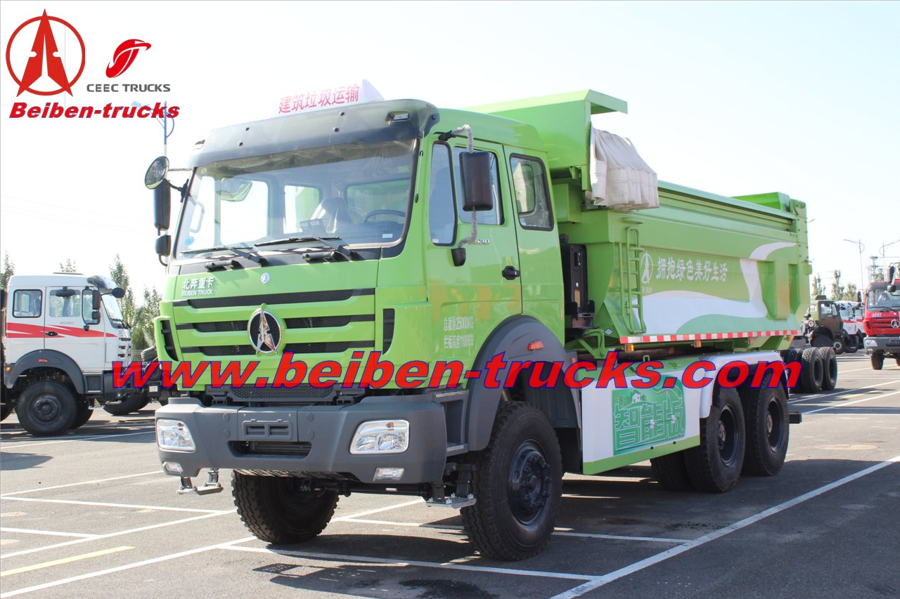 cheap North Benz NG80 6*4 tipper HOT SALE