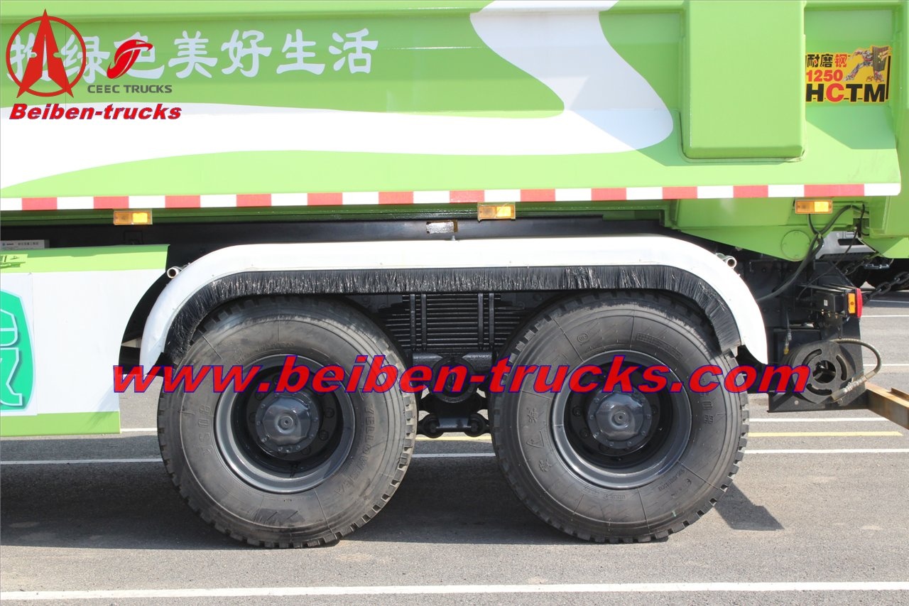 baotou beiben 340 Hp tipper trucks for sale
