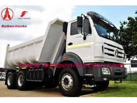 NORTH BENZ tipper 10 wheeler dump truck manufacturer