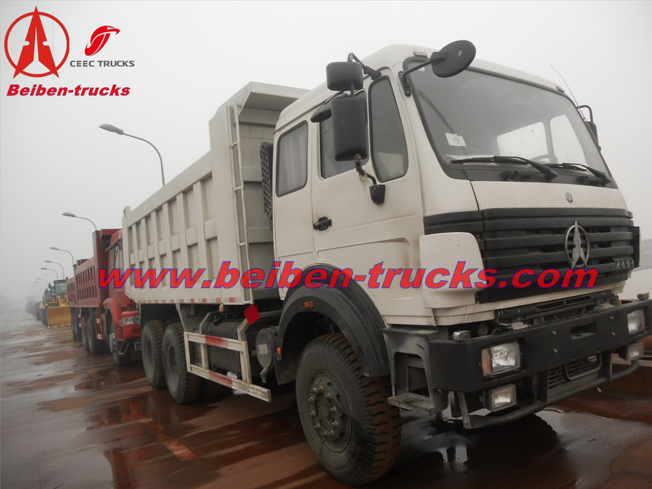 china Beiben dump truck 2538K north benz tipper truck 30ton  price