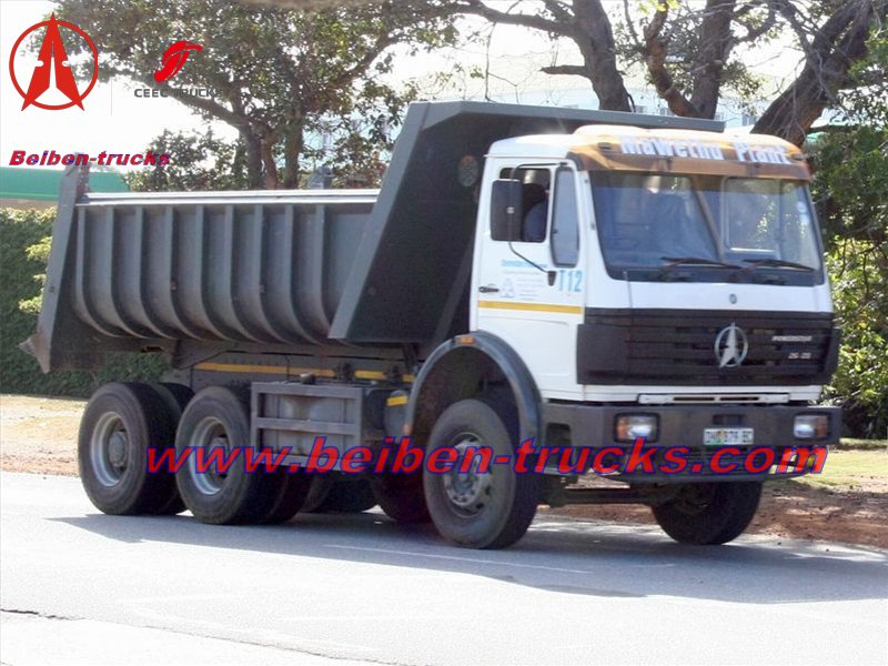 china north benz 2538 dump trucks for earth moving