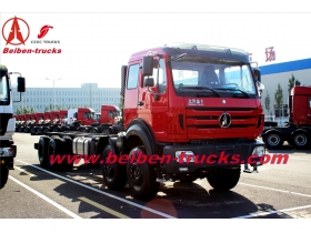 china beiben 2527 dump truck for using in congo