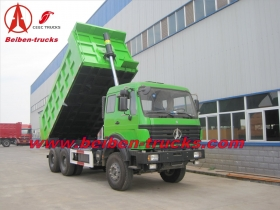 30 T north benz dump truck for earth moving