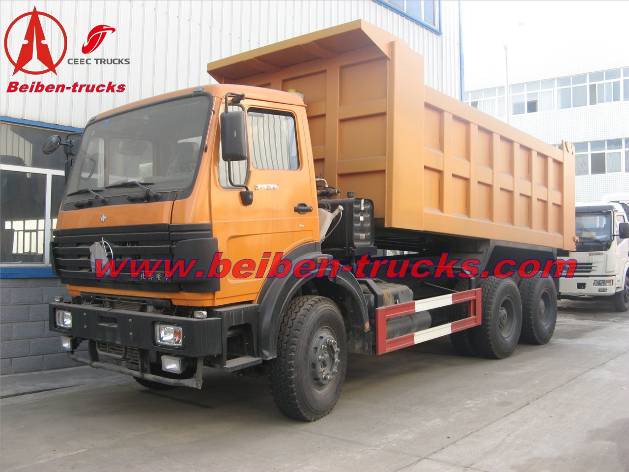 north benz 6*4 mining tipper for mining