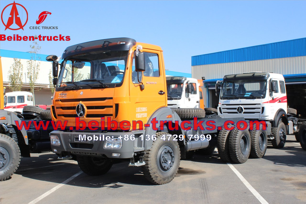 right hand drive north benz 380 Hp prime mover