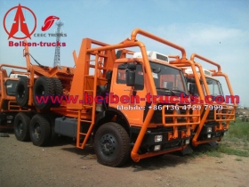 beiben 2538 all wheel drive wooden semi-trailers manufacturer