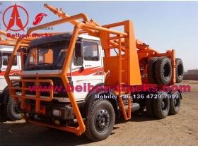 north benz 6*6  wheel drive timber semi-trailers manufacturer
