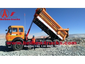 Beiben 8*4 3142 heavy duty dump trucks  manufacturer