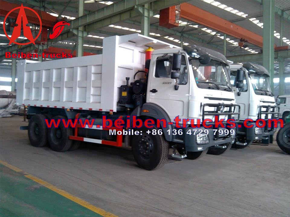 China north benz dump truck Beiben 10 wheel dumper truck  price