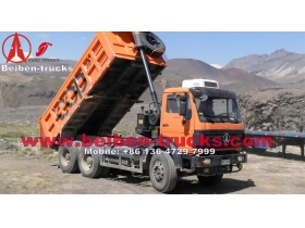 china 25ton dump truck for coal Beiben tipper  manufacturer