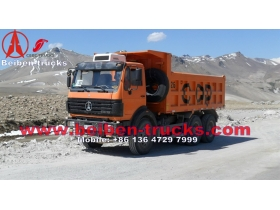 China beiben 336 hp dump trucks