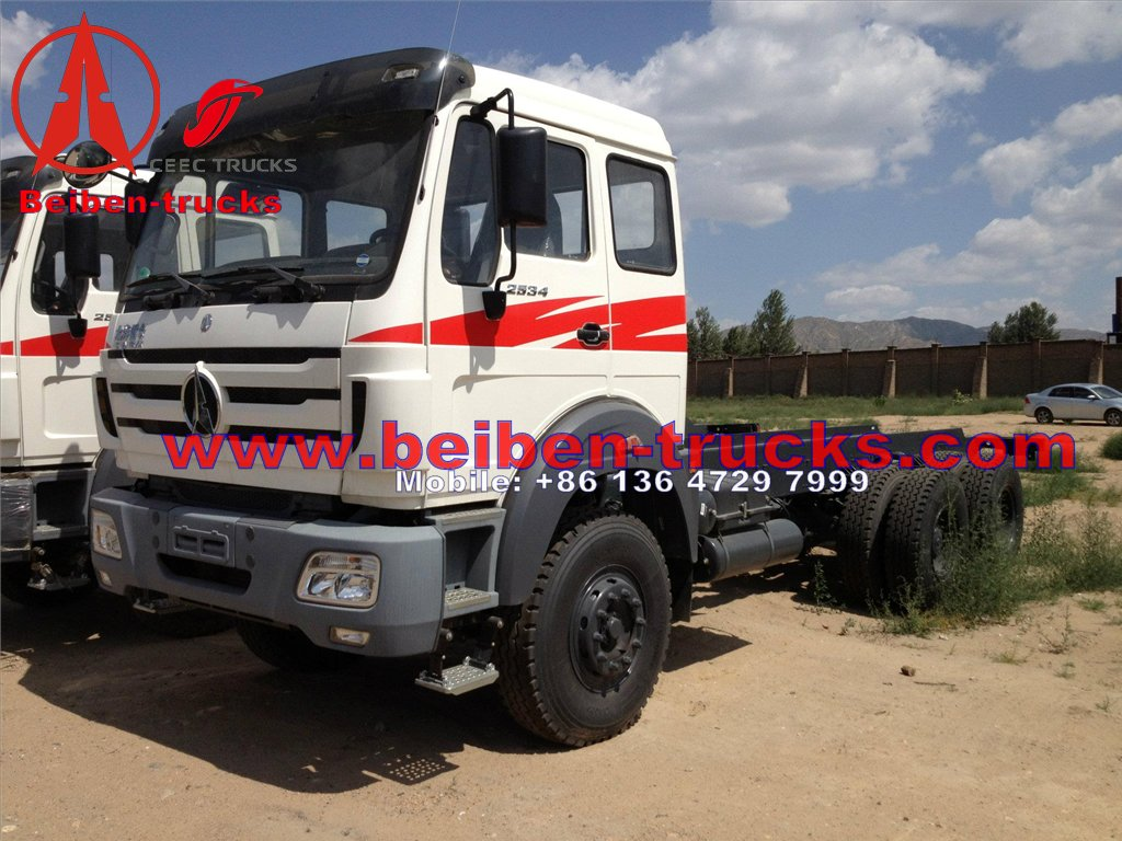 BEI BEN 10 roues camion benne supplier for congo
