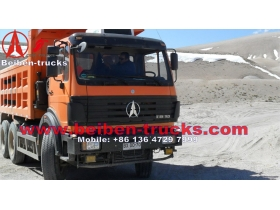 North benz 2634K dump truck manufacturer