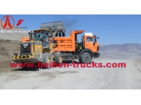 China Beiben power star 25ton lorry truck RHD tipper lorry supplier