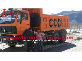 China beiben 10 roues camion benne 25tonnes 10 wheels tipper beiben