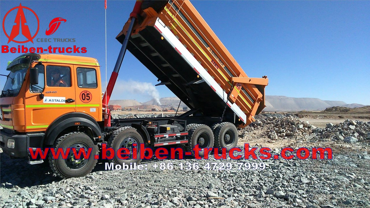 north benz 12 wheeler dump truck 50 Ton