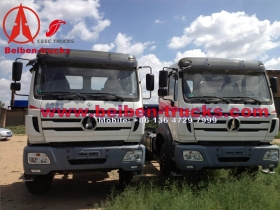 used benz technology beiben 6*4 dump truck manufacturer