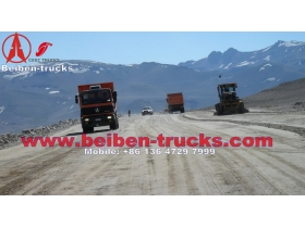 China beiben 2534K dumper manufacturer