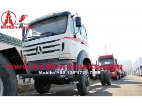 cheap Beiben ND12502B41J  all wheel drive truck 300 hp