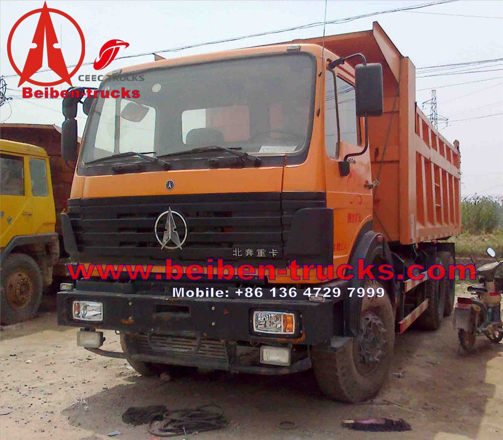 used africa north benz 420 Hp engine dump trucks for sale